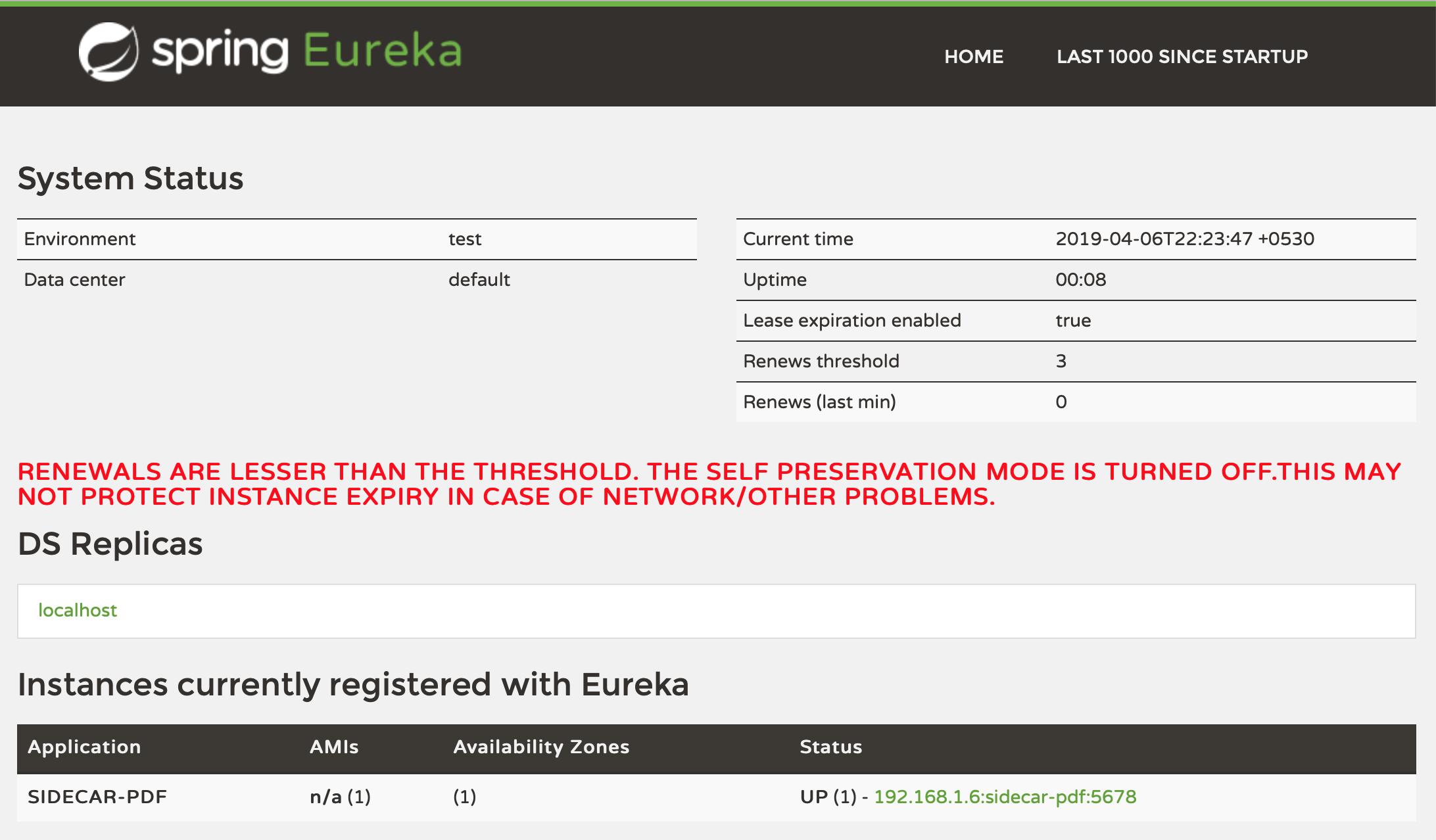 sidecar pdf eureka