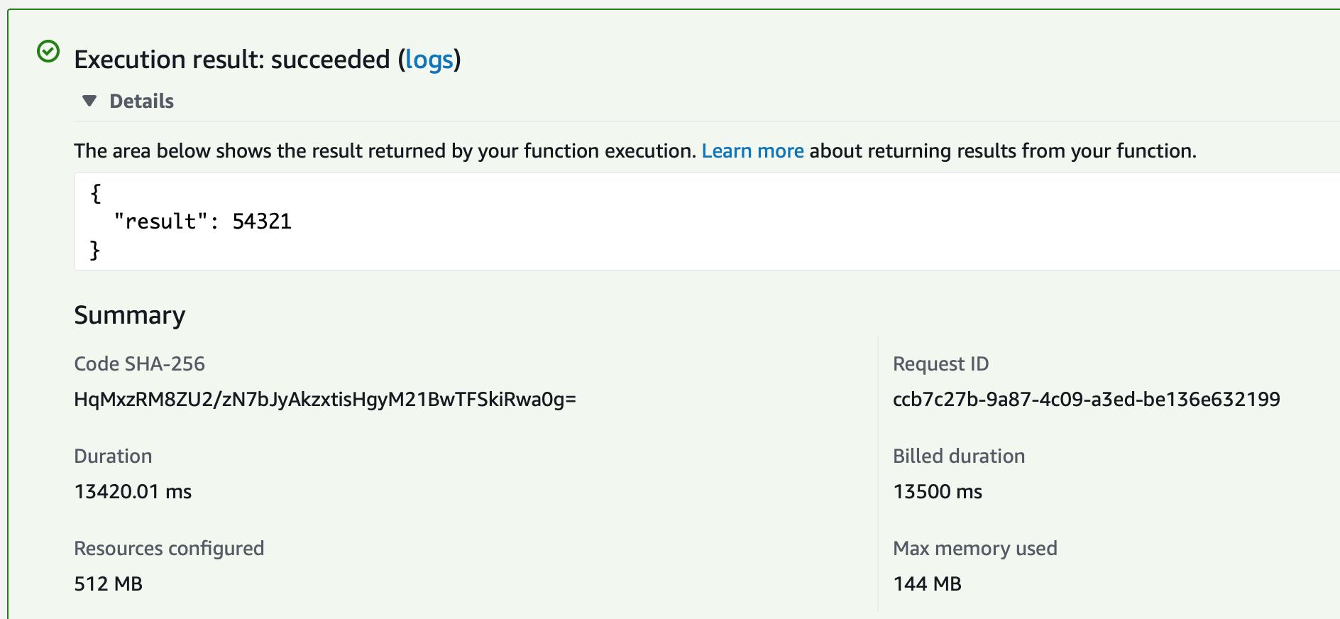 Creating AWS Lambda in Java using Spring Cloud Function
