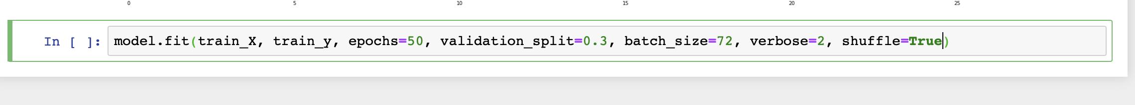 validation_split in model.fit(keras)